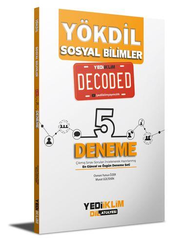 YÖKDİL Sosyal Bilimler Decoded 5 Deneme