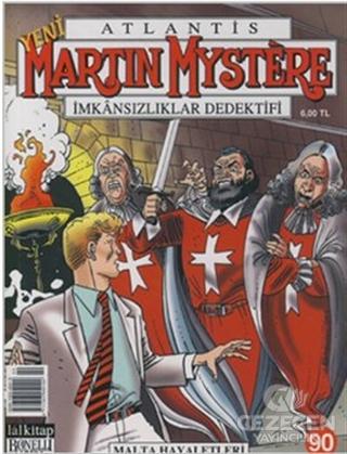 Yeni Martin Mystere Sayı: 90 Malta Hayaletleri