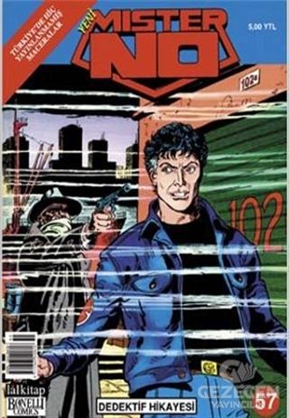 Yeni Mister No Sayı: 57 Dedektif  Hikayesi