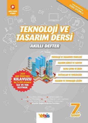 Yetsis 7. Sınıf Teknoloji ve Tasarım Dersi Akıllı Defter Yetsis Yayınları