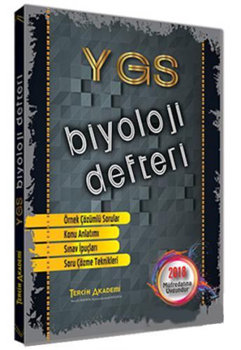 Ygs Biyoloji Defteri Tercih Akademi Yayınları