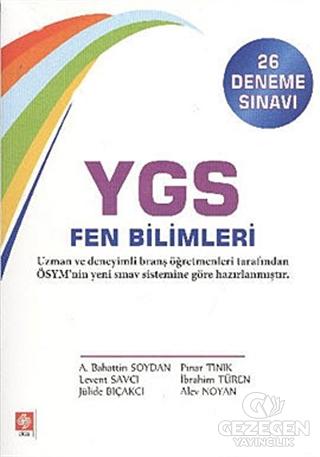 YGS Fen Bilimleri (26 Deneme Sınavı)