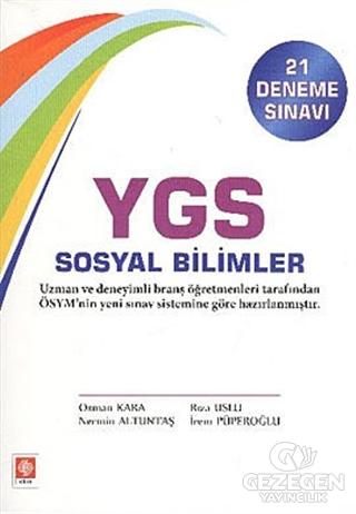 YGS Sosyal Bilimler (21 Deneme Sınavı)