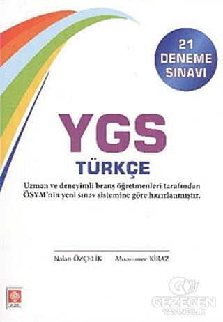 YGS Türkçe (21 Deneme Sınavı)