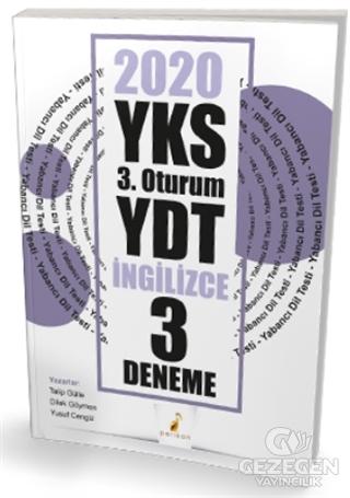 YKS 3.Oturum YDT İngilizce 3 Deneme Sınavı 2020