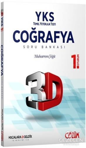YKS 3D 1. Oturum Coğrafya Soru Bankası