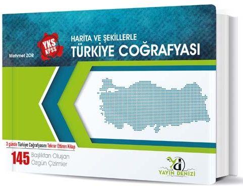 YKS KPSS Harita Ve Şekillerle Türk Coğr -2019