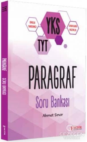 Faktör YKS TYT Paragraf Soru Bankası Faktör Yayınları