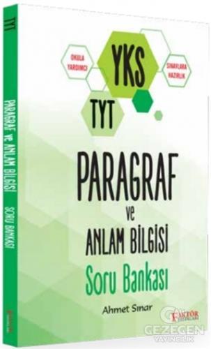 Faktör YKS TYT Paragraf ve Anlam Bilgisi Soru Bankası Faktör Yayınları