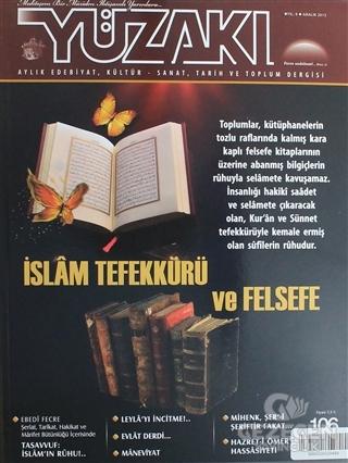 Yüzakı Aylık Edebiyat, Kültür, Sanat, Tarih ve Toplum Dergisi/Sayı:106 Aralık 2013