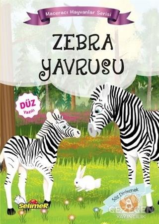 Zebra Yavrusu - Maceracı Hayvanlar Serisi