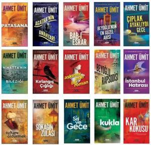 Ahmet Ümit Seti 15 kitap