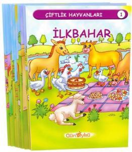 Gün Öykü Çiftlik Hayvanları Serisi 10 Kitap