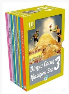 Dünya Çocuk Klasikleri Seti 3 10 Kitap Kutulu