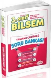 Editör 3. Sınıf Bilsem Tamamı Çözümlü Soru Bankası Büyük Boy YENİ