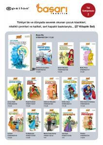 Epsilon Çocuk Klasikleri Seti 27 Kitap