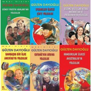 Gezi Dizisi (6 Kitap Set) - Gülten Dayıoğlu