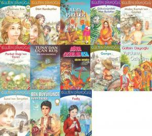 Gülten Dayıoğlu'nun Birbirinden Güzel 13 Kitap Seti