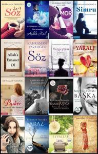 Kahraman Tazeoğlu 16 Kitap Set