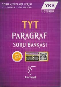Karekök YKS TYT Paragraf Soru Bankası 1. Oturum YENİ