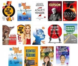Mümin Sekman Kişisel Gelişim Seti 15 Kitap