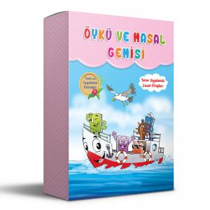 Öykü Ve Masal Gemisi (8 Kitap)
