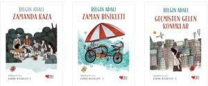 Bilgin Adalı Zaman Bisikleti Seti 3 Kitap