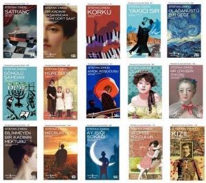 Stefan Zweig Kitap  Seti 15 Kitap İş Bankası Yayınları