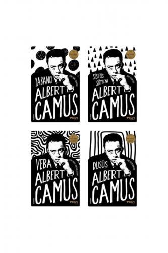Albert Camus 4 Kitap Set Sisifos - Yabancı - Veba - Düşüş Albert Camus