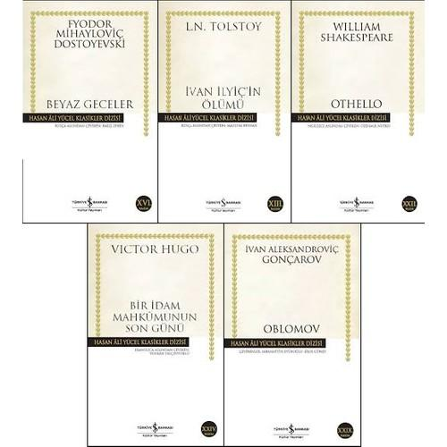İş Bankası Hasan Ali Yücel Klasikleri 5 Kitap Set (Beyaz Geceler, Ivan