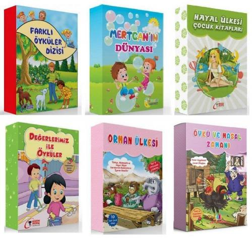 2. ve 3. Sınıflar İçin Hikaye Seti 6 Kutu 60 Kitap KAMPANYALI