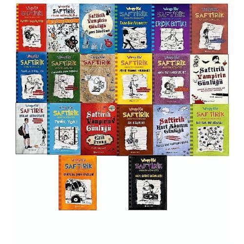 Saftirik Gregin Günlüğü 20 kitap set