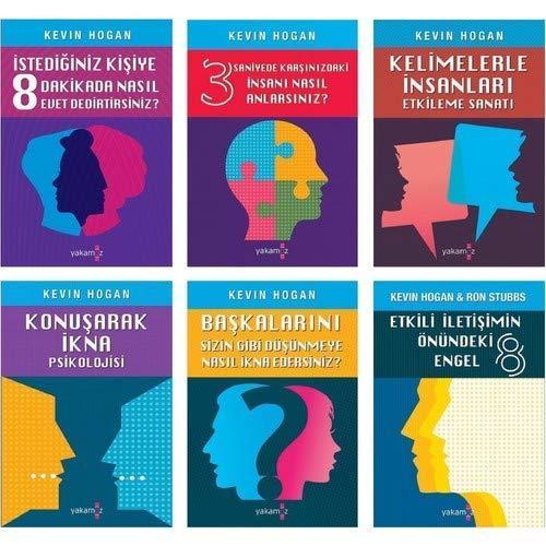 Kevin Hogan Kişisel Gelişim Seti 6 Kitap Kevin Hogan
