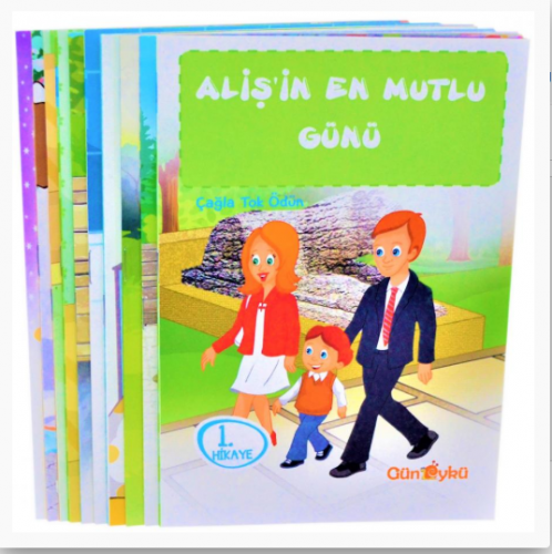 Gün Öykü Aliş'in Maceraları - 2 Hikaye Seti 10 Kitap