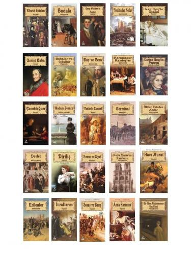 Anonim Yayınları Dünya Klasikleri 25 Kitap Seti Kollektif