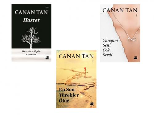 Canan Tan Hasret Serisi - 3 Kitap Canan Tan