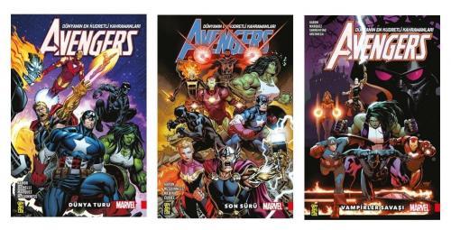 Avengers Seti 3 Kitap Jason Aaron