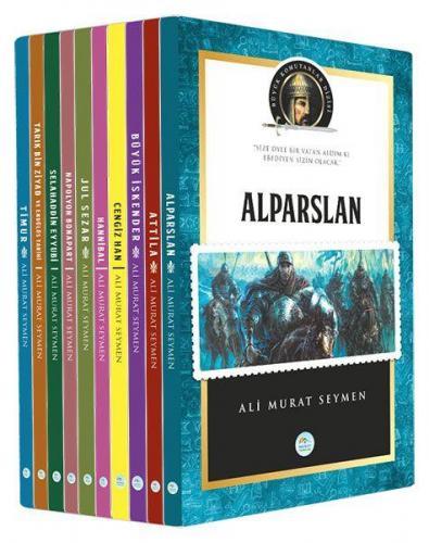 Büyük Komutanlar Seti 10 Kitap