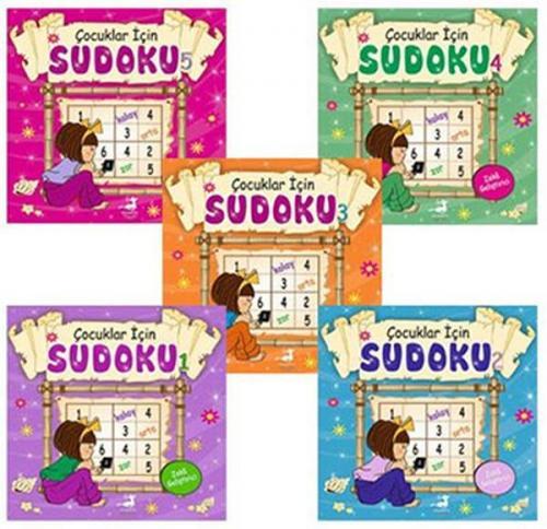 Çocuklar İçin Sudoku Seti 5 Kitap Takım Kolektif