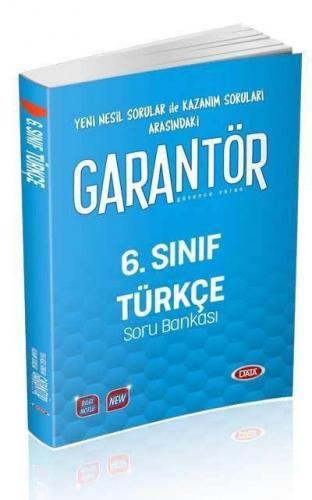Data 6. Sınıf Garantör Türkçe Soru Bankası YENİ