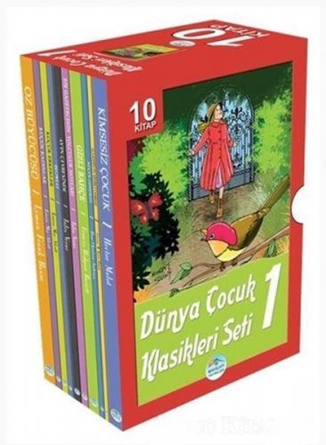 Dünya Çocuk Klasikleri Seti 1 10 Kitap Kutulu
