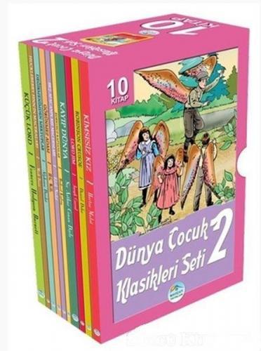 Dünya Çocuk Klasikleri Seti 2 10 Kitap Kutulu