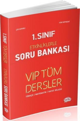 Editör 1. Sınıf VİP Tüm Dersler Etkinliklerle Soru Bankası Kırmızı Kitap YENİ