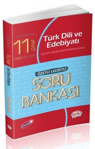 Editör 11. Sınıf Türk Dili ve Edebiyatı Özetli Lezzetli Soru Bankası 2020 YENİ