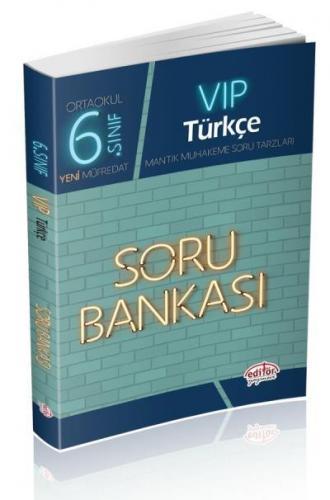 Editör 6. Sınıf VİP Türkçe Soru Bankası YENİ