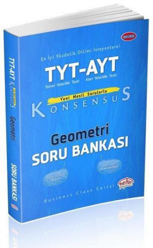Editör TYT AYT Konsensüs Geometri Soru Bankası YENİ