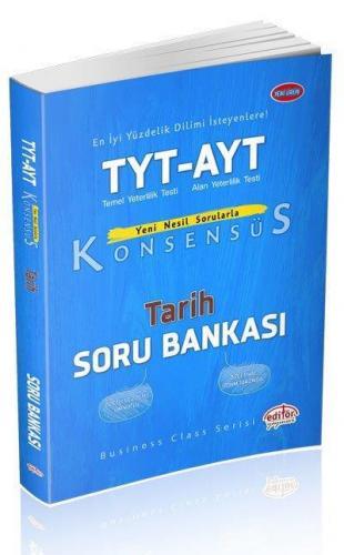 Editör TYT AYT Konsensüs Tarih Soru Bankası YENİ
