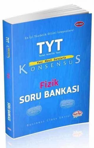 Editör TYT Konsensüs Fizik Soru Bankası YENİ