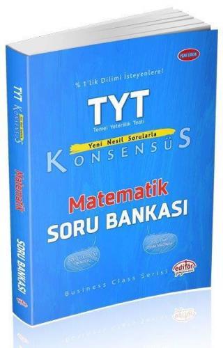 Editör TYT Konsensüs Matematik Soru Bankası YENİ