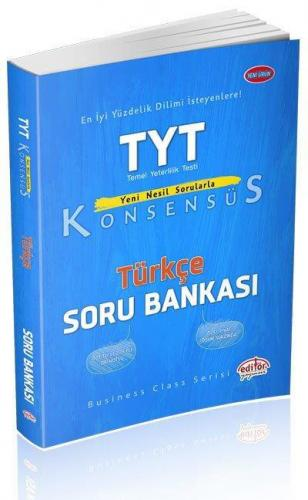 Editör TYT Konsensüs Türkçe Soru Bankası YENİ